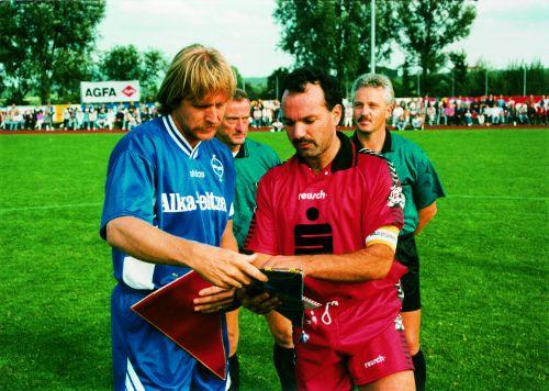 Spiel gegen Bayer Leverkusen