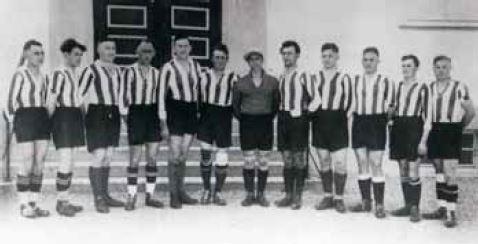 Eine der Herrenmannschaft aus den Anfangszeiten der FA Peiting