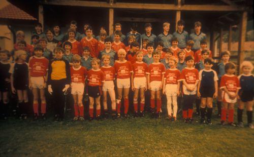 Jugendspieler in den 80er