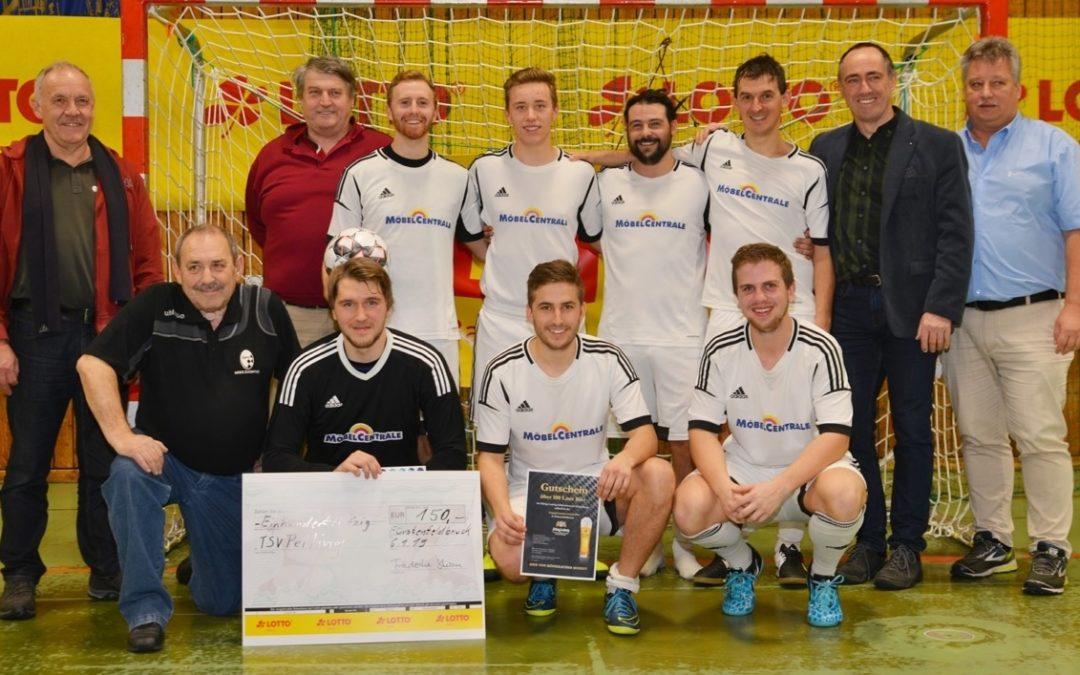 Nach Supersieg im Halbfinale gegen FC Penzberg gehts zur Obby. Hallenmeisterschaft.