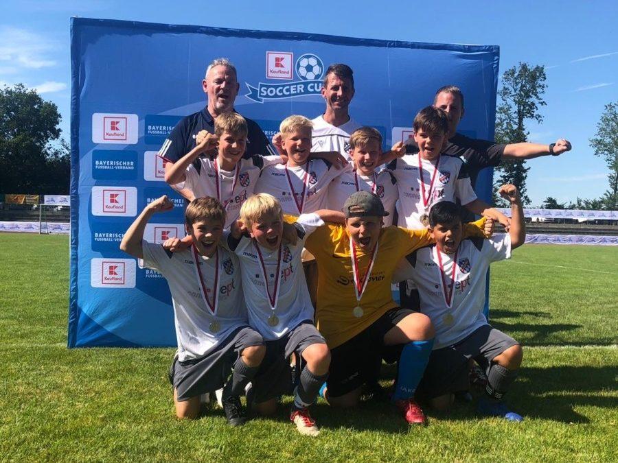 2008er-Jungs qualifizieren sich für das Finale beim Kaufland-Soccer-Cup!