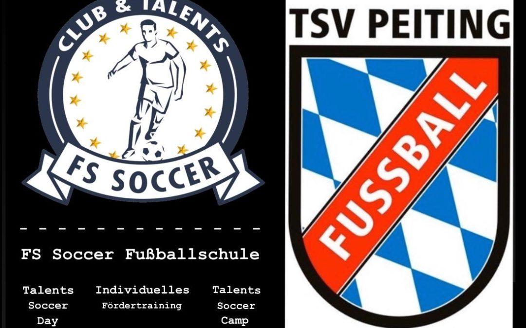 Neue Kooperation mit FS Soccer Fußballschule