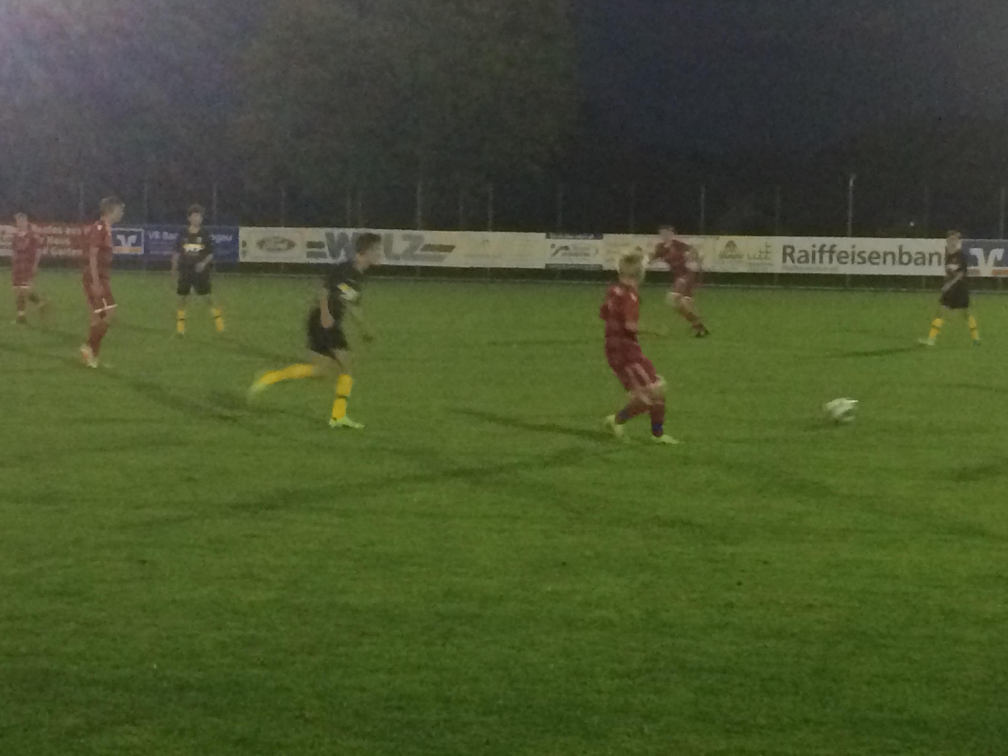 Pokalsieg gegen den FC Bad Kohlgrub